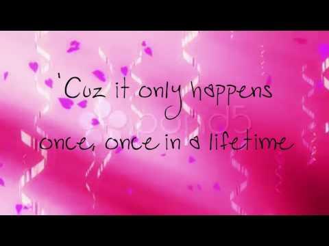 Justin Bieber Ft Usher: First Dance (Lyrics On Screen)