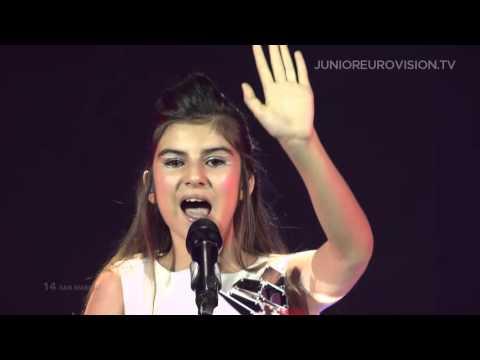 Kamilla Ismailova - Mirror (San Marino) LIVE Junior Eurovision Song Contest 2015