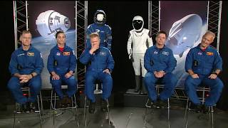 Live Interviews with Starliner and Crew Dragon Astronauts 8.3.18 1