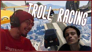 სადაა გასასვლელი?! TROLL RACE! | GTA 5 Online ქართულად