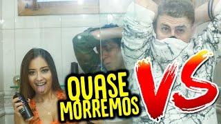 MENINAS vs MENINOS : PROVA DO BANHEIRO !!! (QUASE MORREMOS NO BANHEIRO) thumbnail