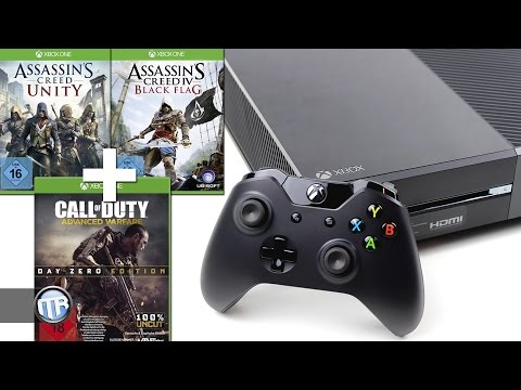 unboxing:-xbox-one---assassin's-creed-bundle-&-gratis-call-of-duty-advanced-warfare