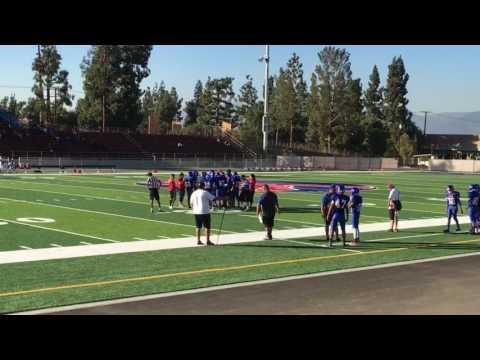 Los Altos High School vs Diamond Ranch High school
