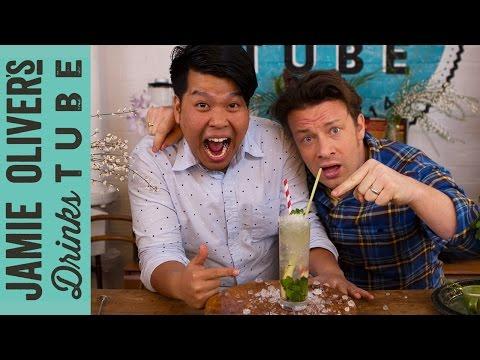 Thai Lemongrass Mojito | Jamie's Crazy Cocktail Challenge