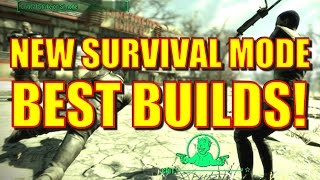 Fallout 4 New Survival Mode - Best Builds, Tips, Supply Lines vs. Homeless and more!