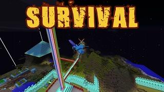 """TEMBOK BESAR DIAMOND 2"" Noob Survival Minecraft Indonesia #48"