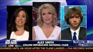 CampusReform.org on The Kelly File helping student Jayson Veley liberal bias on campus