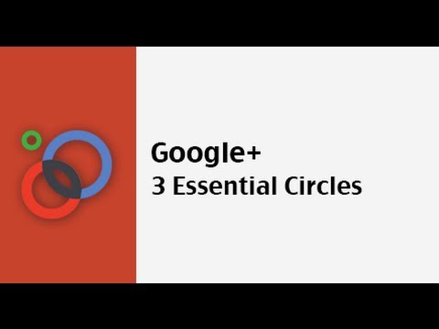 3 Essential Google Circles to Create Now On Google+