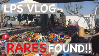 LPS: SWAP MEET VLOG! 50 cents for a shorthair?!?