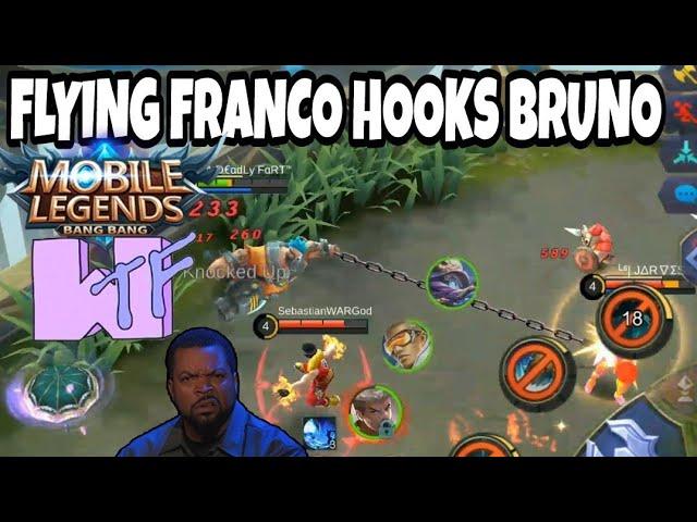 [MYTHIC RANK]EPIC FRANCO HOOKS MONTAGE EP. 116 | WOLF XOTIC | MOBILE LEGENDS