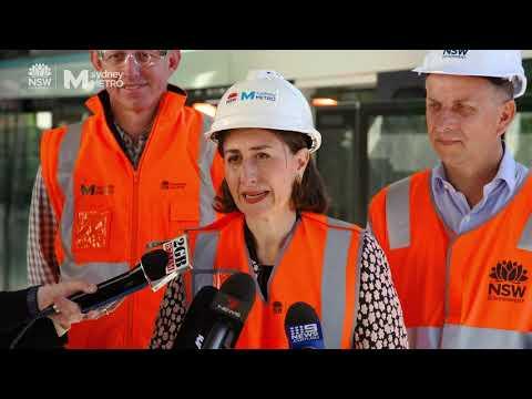Sydney Metro: Australia's first platform screen doors installed at Tallawong