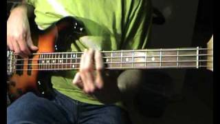 Santana - She's Not There - Bass Cover