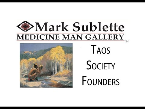 The Taos Society Artist Colony, History and Paintings