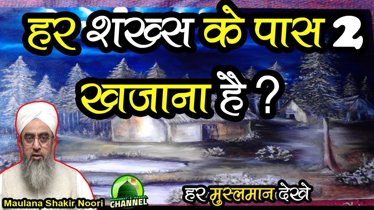 Har Shakhs Ke Pass 2 Khajane Hain   Maulana Shakir Ali Noori