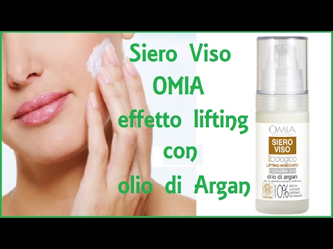 Review // SIERO VISO OMIA - EFFETTO LIFTING - OLIO di ARGAN
