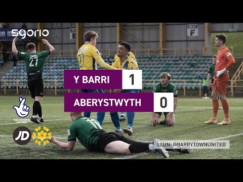 Barry Aberystwyth Goals And Highlights