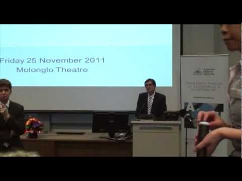 Carbon markets and international linkage: The Hon Greg Combet at ANU