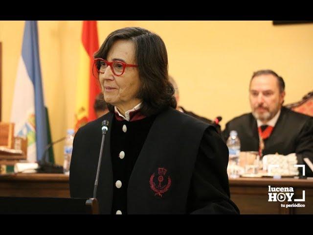 VÍDEO: Rosa Aguilar confirma el inicio de la nueva sede judicial de Lucena en 2018
