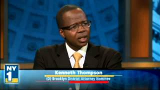 NY1 Online Ken Thompson Talks Primary Win In Brooklyn DA Race