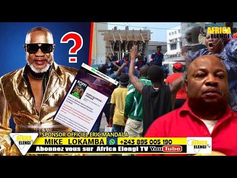 EN DIRECT YA KINSHASA BA BUKI NDAKU YA COMBATTANT BOKETSHU PONA ANNULATION YA CONCERT YA KOFFI