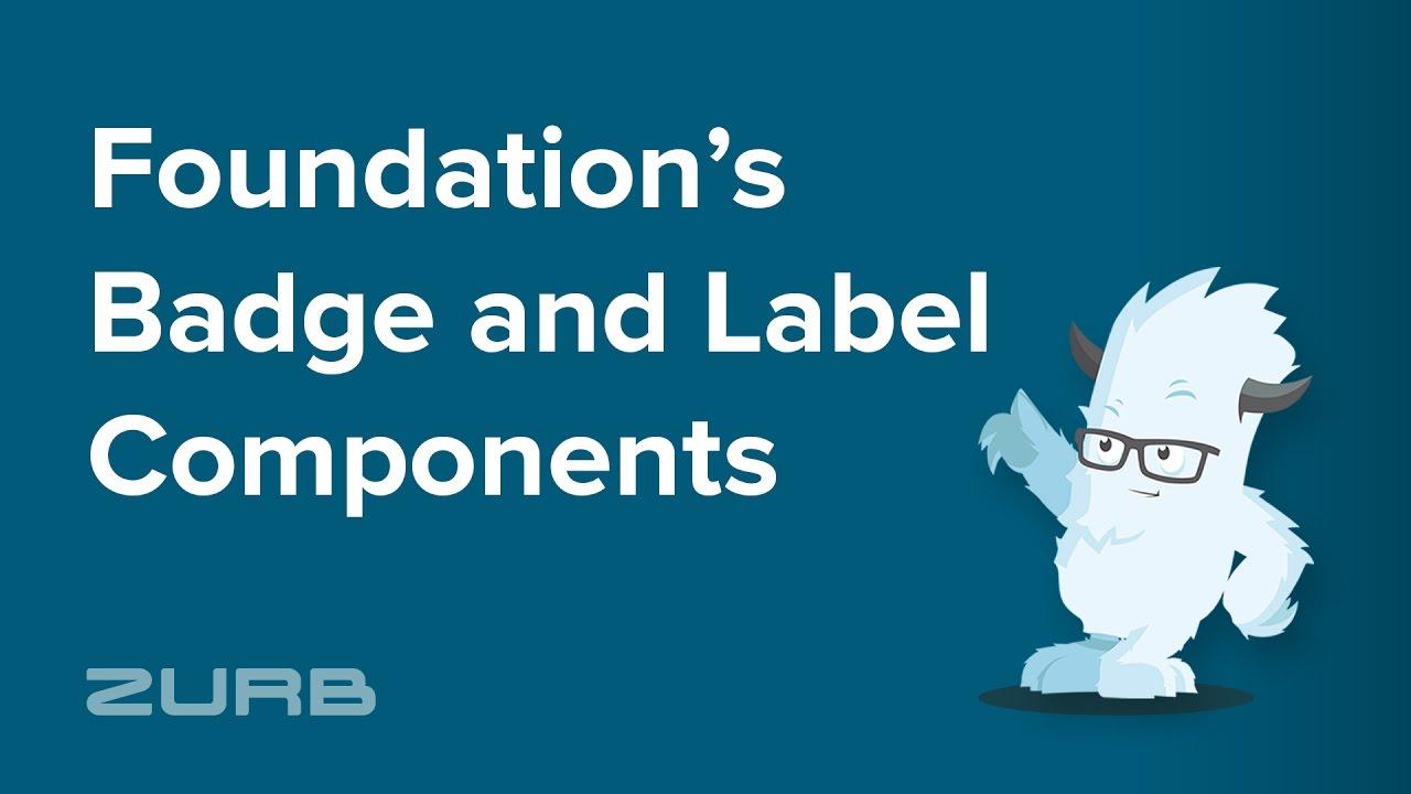 Badge | Foundation for Sites 6 Docs