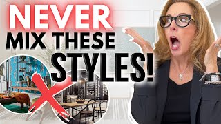 NEVER EVER, EVER, EVER... MIX THESE STYLES!