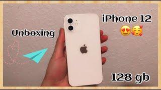 Unboxing White iPhone 12 + Accessoires   🤍