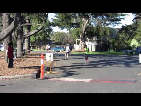 Traralgon finish line - Laura Browning - Half Marathon