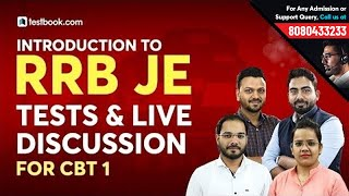 Introduction to RRB JE CBT 1 Tests u0026 Discussions | RRB JE Classes | RRB JE GK, Reasoning u0026 Math