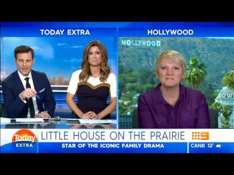 Alison Arngrim Nellie on Little House On The Prairie  2016