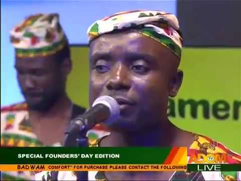 Masters Band's Live Performance - Badwam Special Founders' Day Edition on Adom TV (21-9-17)