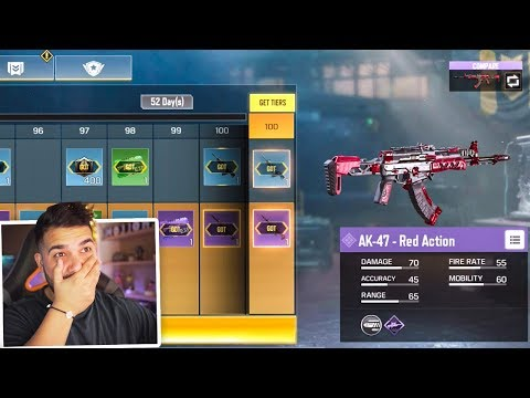 I Unlocked The Full BATTLE PASS In Call Of Duty Mobile..