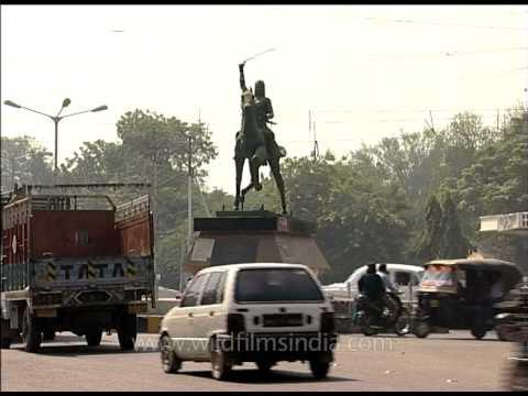 Rani Lakshmibai Statue of Agra, Uttar Pradesh