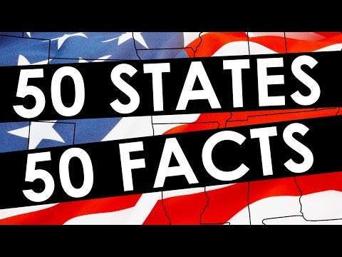50 Facts For 50 States