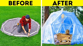 How To Build A Geodesic Dome With Cover    Outstanding DIYs For Your Backyard