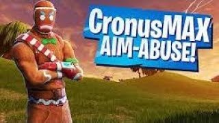 FORTNITE AIM ABUSE/AIM BOT - CONSOLE CRONUSMAX (FORTNITE ARCHITECT POP-UP CUP)