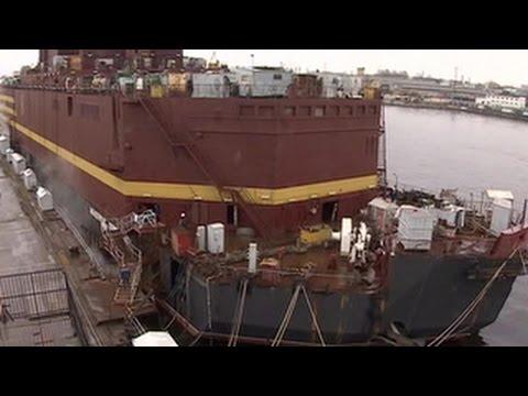 Плавучие АЭС: атомный проект за полярным кругом