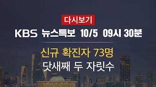 [KBS 통합뉴스룸 다시보기] 신규 확진자 73명…서울…