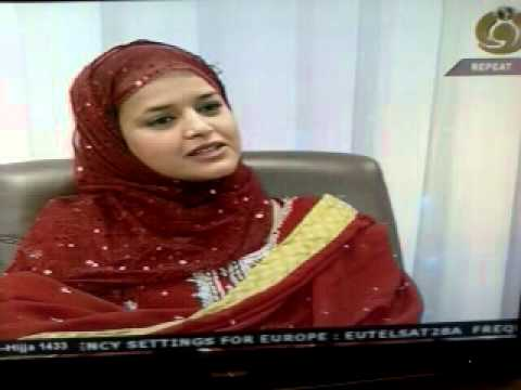 Tasneem Hassan in Bazm e Noor program 'Eid Special' hosted by Samia Naz