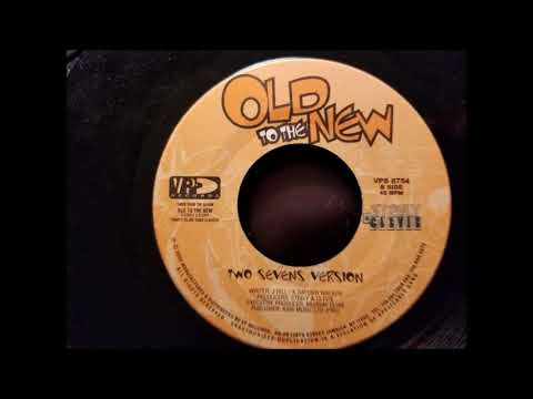 """Culture and Anthony B - Two Sevens Clash - Old To The New 7"""" w/ Version - 2002"""