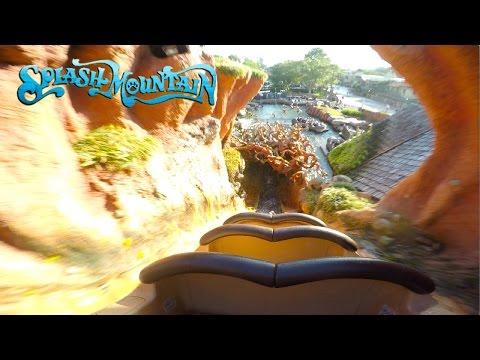 New Splash Mountain Full Experience POV Magic Kingdom, Walt Disney World 2017