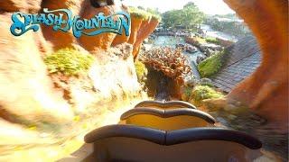 New Splash Mountain Full Experience POV Magic Kingdom, Walt Disney World 2017 | BrandonBlogs