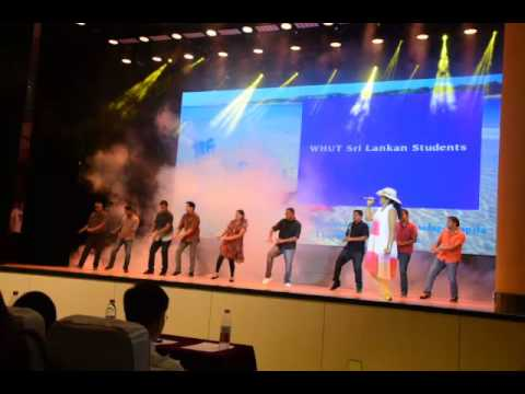 Wuhan University of Technology - Dance by Sri Lankans