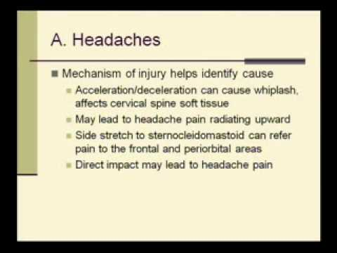 VA CPEP Traumatic Brain Injury (TBI) Examination Part 1 of 2