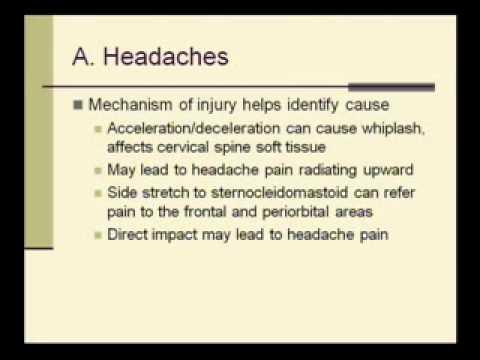 VA CPEP Traumatic Brain Injury (TBI) Examination Part 1 of 2