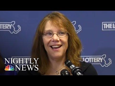 Massachusetts Mom Wins Historic $758 Million Powerball Jackpot | NBC Nightly News