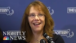 Massachusetts Mom Wins Historic $758 Million Powerball Jackpot | NBC Nightly News