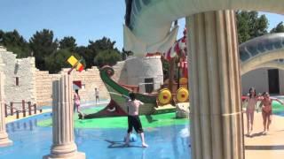 Jeux aquatiques au camping Le Clarys Plage - Saint-Jean-de-Monts - Vendée