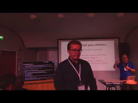 Drummon Reed - Decentralized Identifiers (DIDs), MyData 2017
