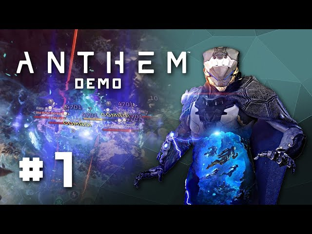 Anthem Demo  Gameplay - Storm Javelin Class & Tyrants Mine